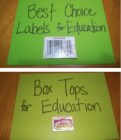 Labels for Box Tops