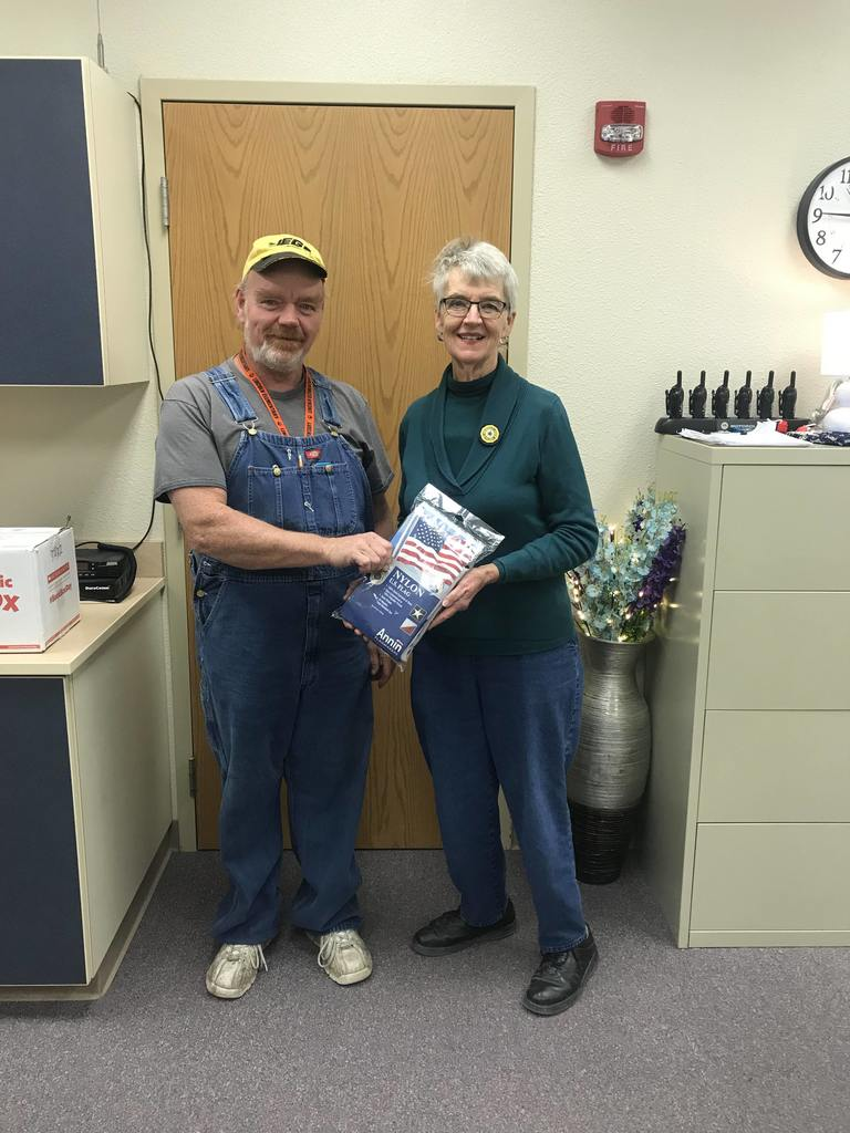 American Legion Auxiliary Unit 101 Donation